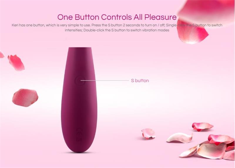One Button Controls All Pleasure women using vibrator