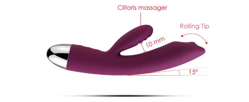 Brand new clitoris massager design g spot vibration