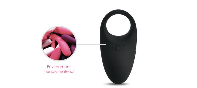 Environment friendly material clitoral stimulator