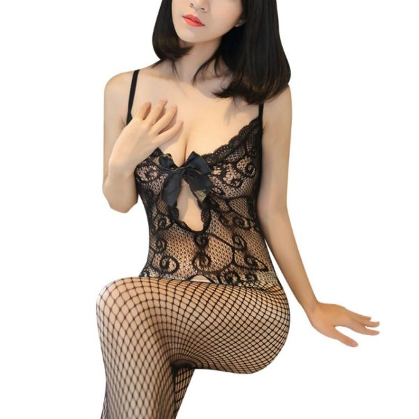 Sexy Illusion Hollow Bodystocking