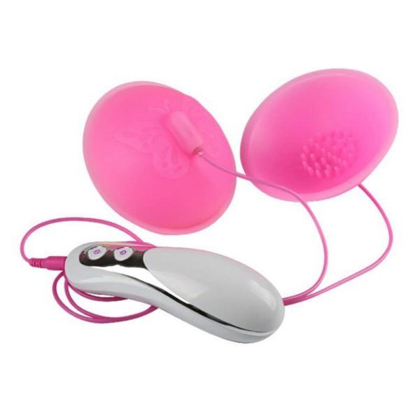 Butterfly Powerful Vibrating Silicone Nipple & Clit Teasers