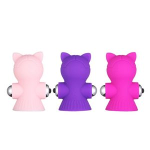 Heartley Mini Vibrating Silicone Nipple Sucker