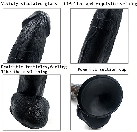 Black-12-inch-Liquid-Silicone-Dildo-Lifelike-Huge-Dong-Strong-Suction-Cup-Realistic-and-Extremely-Soft-Adult-Toy-100-Waterproof